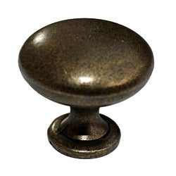 GlideRite 1.125-inch Antique Brass Cabinet Knobs (Case of 25)
