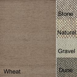 Hand-woven Cape Cod Wool/ Cotton Rug (3'6 x 5'6)