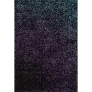 Stella Purple Shag Rug (7'7 x 10'5)