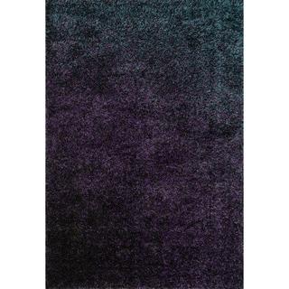 Stella Purple Shag Rug (5'2 x 7'7)