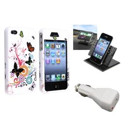 Autumn Flower Case/ Phone Holder/ Charger for Apple iPhone 4/ 4S
