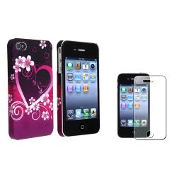 Case/ Front/ Back Diamond Screen Protector for Apple iPhone 4/ 4S