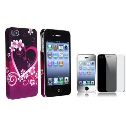 Case/ Front/ Back Mirror Screen Protector for Apple iPhone 4/ 4S