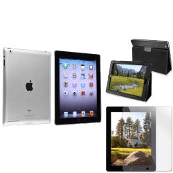 BasAcc Crystal Case/ Protector/ Leather Case for Apple iPad 2/ 3/ New iPad/ 4