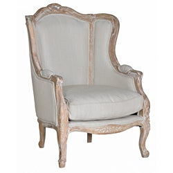 Solid Oak Paola Arm Chair