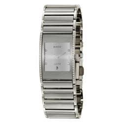 Rado Women's 'Integral' Stainless-Steel Diamond-Accented Swiss Watch