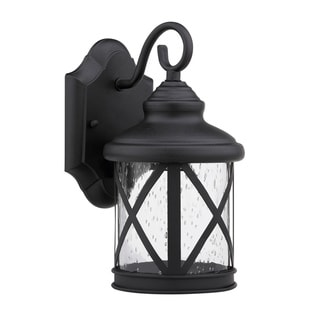 Chloe Transitional 1-light Black Outdoor Light