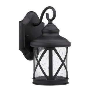 Transitional 1 light Black Outdoor Light