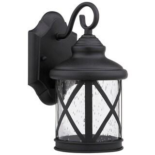 Chloe Transitional 1-light Black Outdoor Light