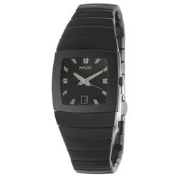 Rado Men's 'Sintra' Black Ceramic Swiss Watch