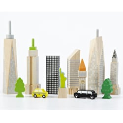 Wonderworld Toys City Skyline Glow Bocks
