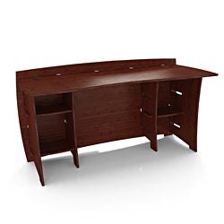 Espresso Legare Sustainable Bamboo 60-Inch Desk