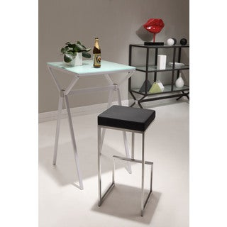 Zuo Darwen Black Bar Chairs (Set of 2)