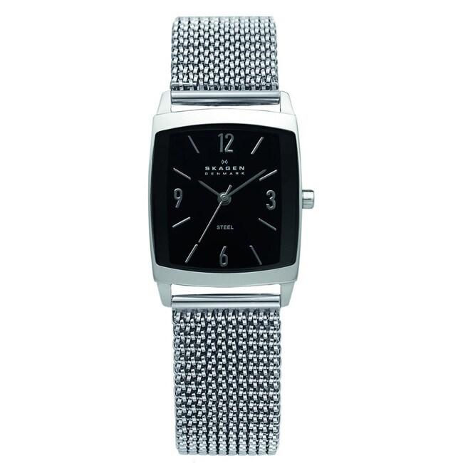 Skagen Women's 691SSSB1 Stainless Steel Stretch Watch