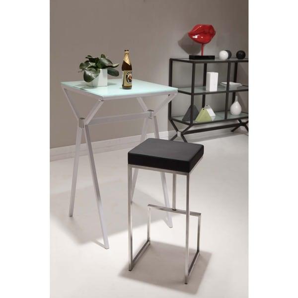 Zuo Darwen White Bar Chairs Set Of 2