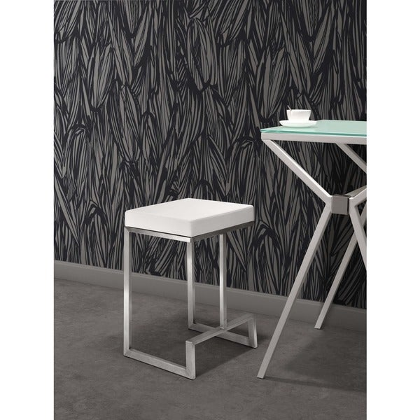 Zuo Darwen White Counter Chairs Set Of 2 14487764