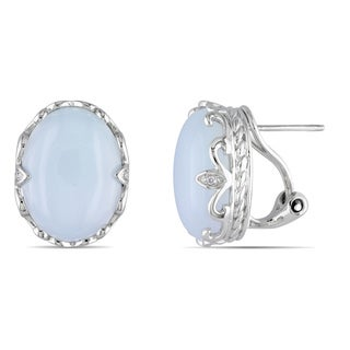 Miadora Gemstone and Diamond Accent Earrings (H-I, I2-I3)