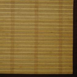 Asian Handwoven Beige Natural Bamboo Rug (1'8