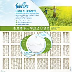 Febreze 20 x 20 x 1 High Allergen Electrostatic Air Filter