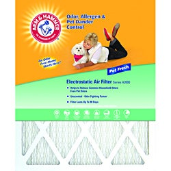 Arm & Hammer 20 x 25 x 1 Pet Fresh Pet Protection Air Filter