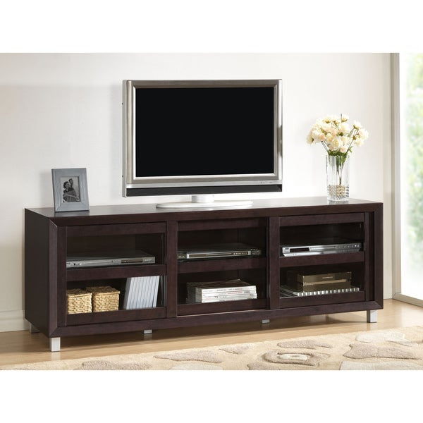 Pacini Dark Brown TV Cabinet