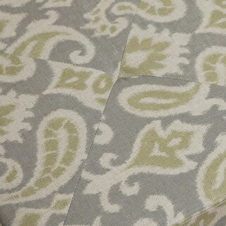 Christopher Knight Home Andrea Light Grey Printed Fabric Storage Ottoman