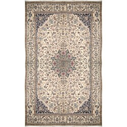 Nourison Hand-knotted Persian Nain One of a Kind Ivory Rug (19'1 x 35'5)