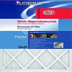 DuPont ProClear Maximum Allergen Electrostatic 20-Inch by 25-Inch Air Filter