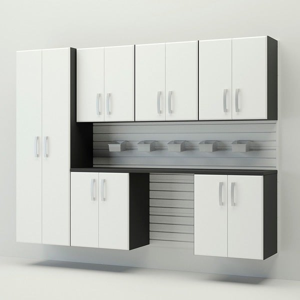 Flow Wall 8-piece Deluxe Cabinet Set