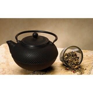 Old Dutch Matte Black 'Saga' Teapot