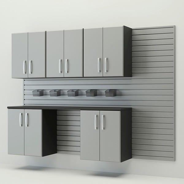 Flow Wall 7-piece Workstation