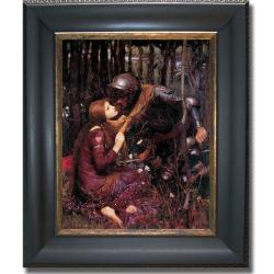 John Waterhouse 'La Belle Dame Sans Merci' Framed Canvas Art