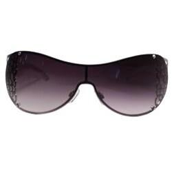 Hotties Women's HT-E899 Rainbow Zebra Shield Sunglasses