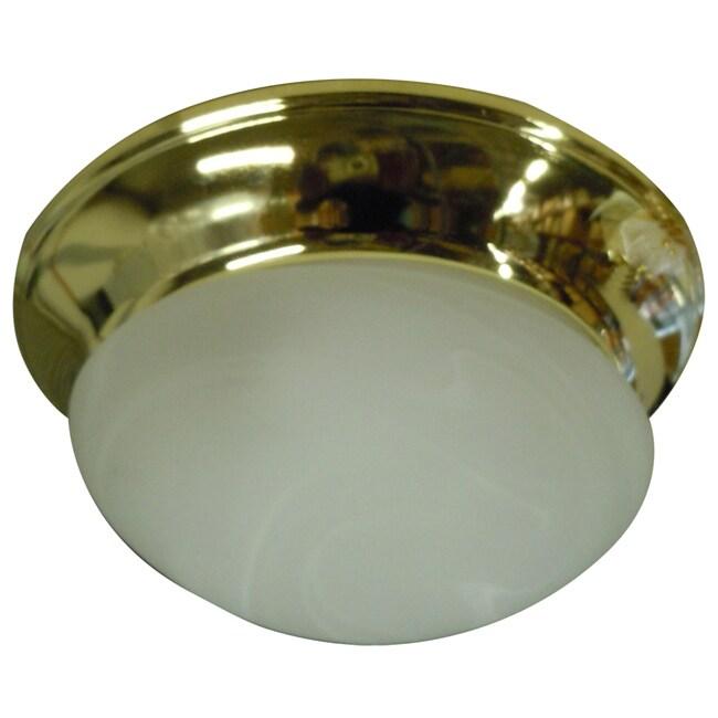 Two Light Twist-on Ceiling Fan Light Kit