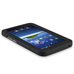 BasAcc Black Silicone Skin Case for Samsung Galaxy Tab P1000 7.0-inch