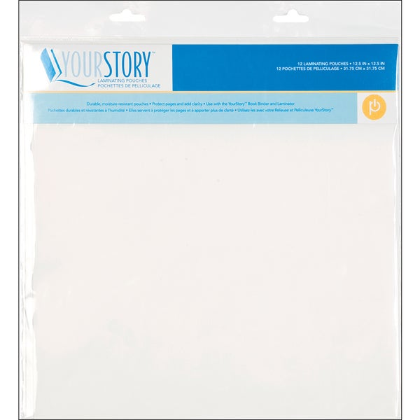 Your Story Laminating Pouches 12.5X12.5 12/Pkg-