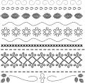 "Crafter's Workshop Templates 12""X12""-Deco Stitches"