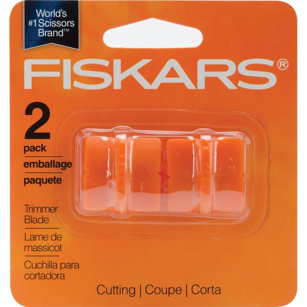 Paper Trimmer Straight Orange Replacement Blades (Two to a Pkg)