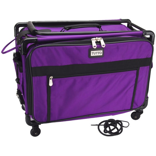 Tutto Craft On Wheels Large Case-Purple