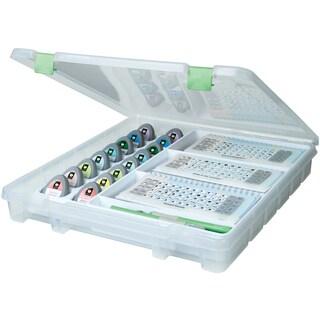 ArtBin Electronic Cartridge Storage-Translucent W/Green Latch