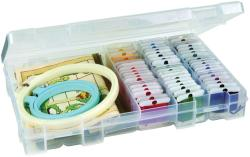 ArtBin Solutions Box 4-16 Compartments-Translucent