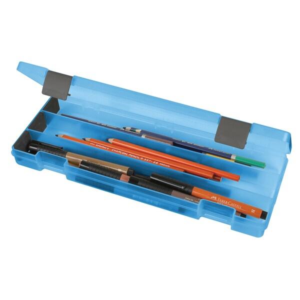 ArtBin Pencil Box- Translucent Blue