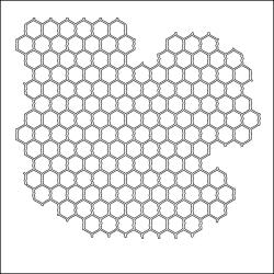 "Crafter's Workshop Templates 12""X12""-Chicken Wire"