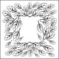 "Crafter's Workshop Templates 12""X12""-Leaf Frame"