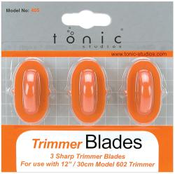 Paper Trimmer Replacement Blades 3/Pkg-Straight