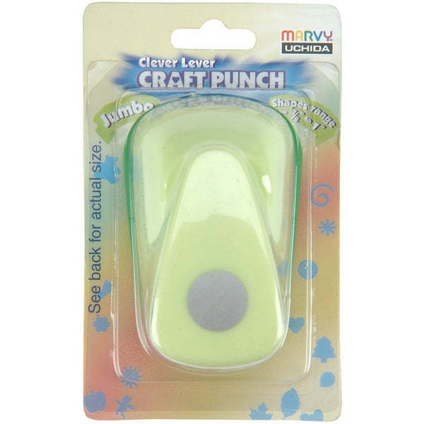 Clever Lever Jumbo Craft Punch-Circle 3/4""