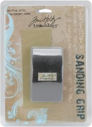 """Idea-Ology Sanding Grip Hand Held Block 2""""X3""""-With 1 Sheet Of Sand Paper"""