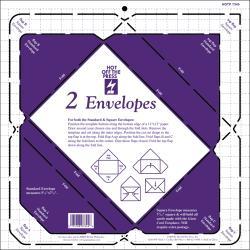 "Hot Off The Press Templates 12""X12""-2 Envelopes"