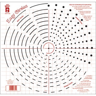 Hot Off The Press Templates 12X12-Easy Circles