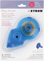 "Xyron Mega Runner Permanent Adhesive Refill-1/2""X100ft"